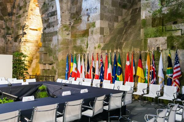 Международное право - дипломатические сношения