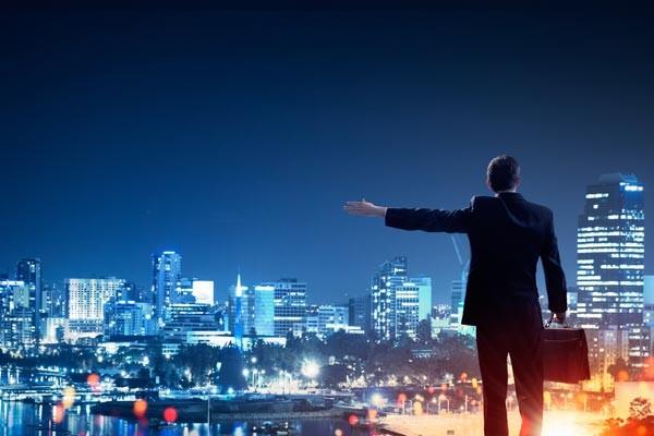 Международное право - ночной город