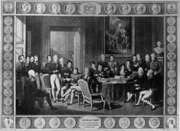 Международные отношения - Венский конгресс