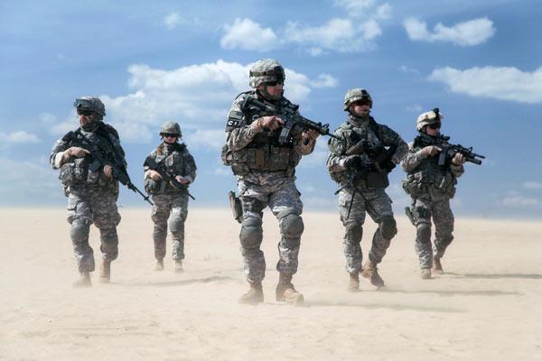Международное право - вооруженные силы