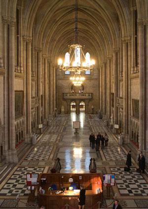 Главный холл Королевского суда