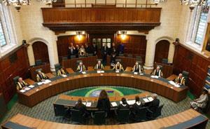 Заседание Верховного суда Соединенного Королевства.