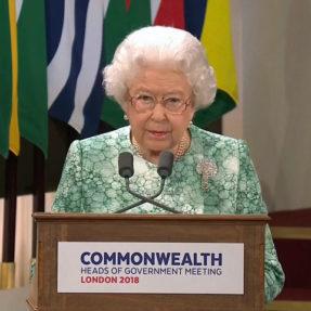 Королева Елизавета II, глава Содружества наций