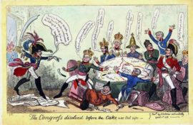 Карикатура на Венский конгресс, 1815