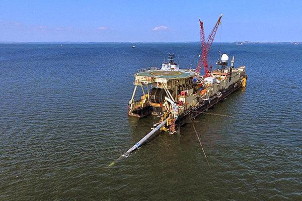 Прокладка подводного трубопровода в исключительной экономической зоне