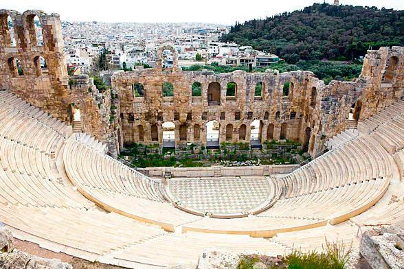 Всемирное культурное наследие: Одеон Герода Аттика, Афины, Греция