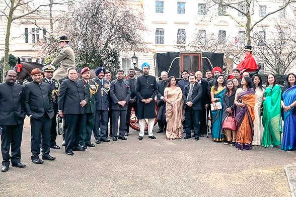 Глава дипломатического представительства Индии в Великобритании