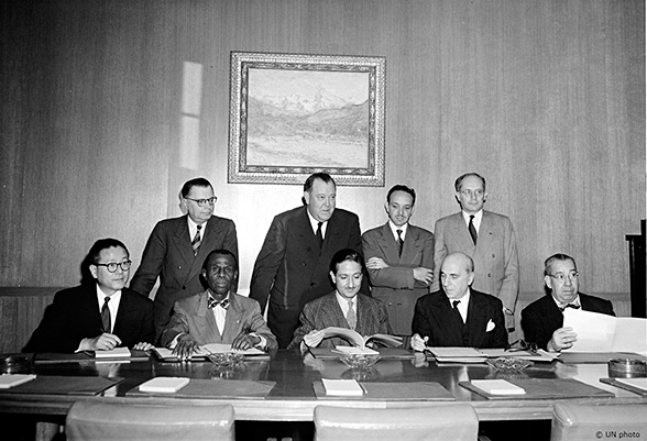 Ратификация конвенции о геноциде
